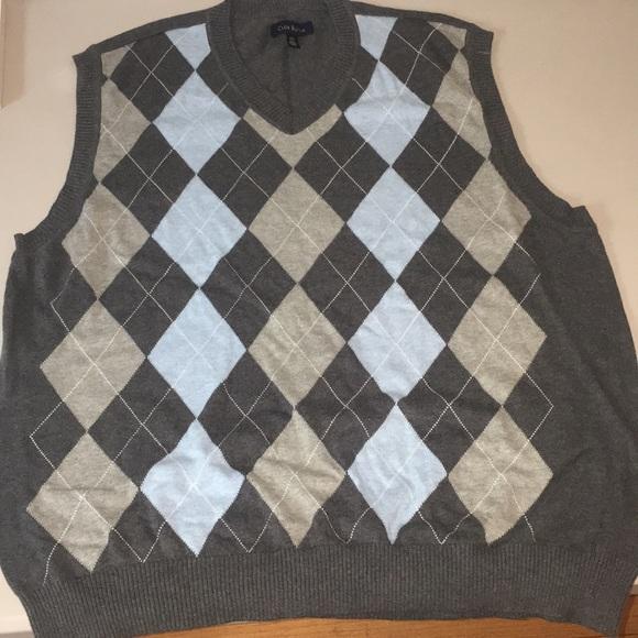 843a03cf1e9a Club Room Sweaters | Mens Argyle Vneck Sweater Vest | Poshmark